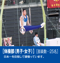 体操部(男子・女子)