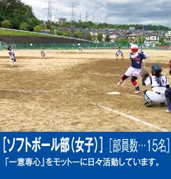 ソフトボール部(女子)